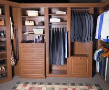 Custom Laminate Closets