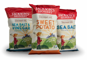 Jackson's Honest Coconut Oil Potato Chips