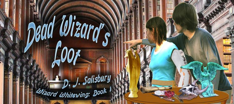 Dead Wizard's Loot by DJ Salisbury, fantasy author