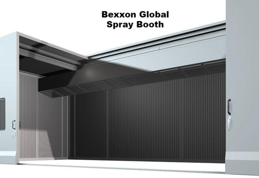 thermal spray booth