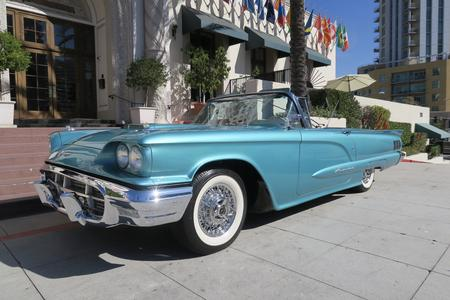 "1960 Ford Thunderbird 2dr Convertible ""Squarebird"" for sale san diego California show winner car"