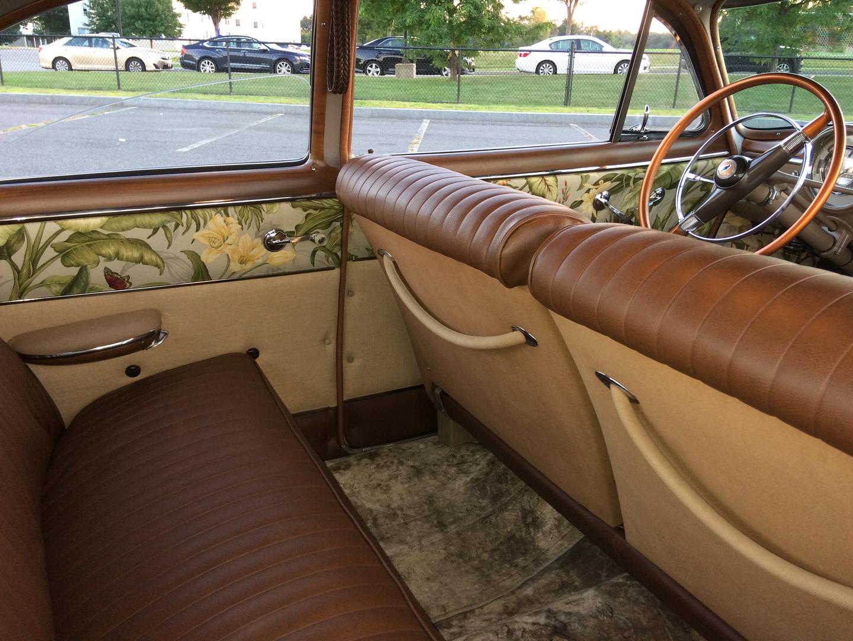 1949 Chevy Styleline Deluxe Steering Wheel Everything Redone