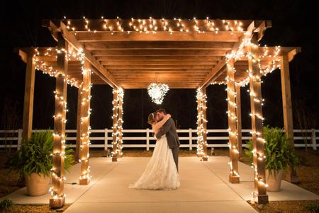 twinkle lights wedding huntsville