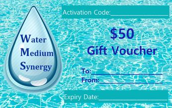 Image of Turquoise Water Medium Synergy $50 Gift Voucher Card