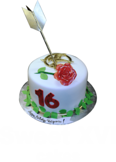 Sweet 16 cakes and Quinceañera cakes