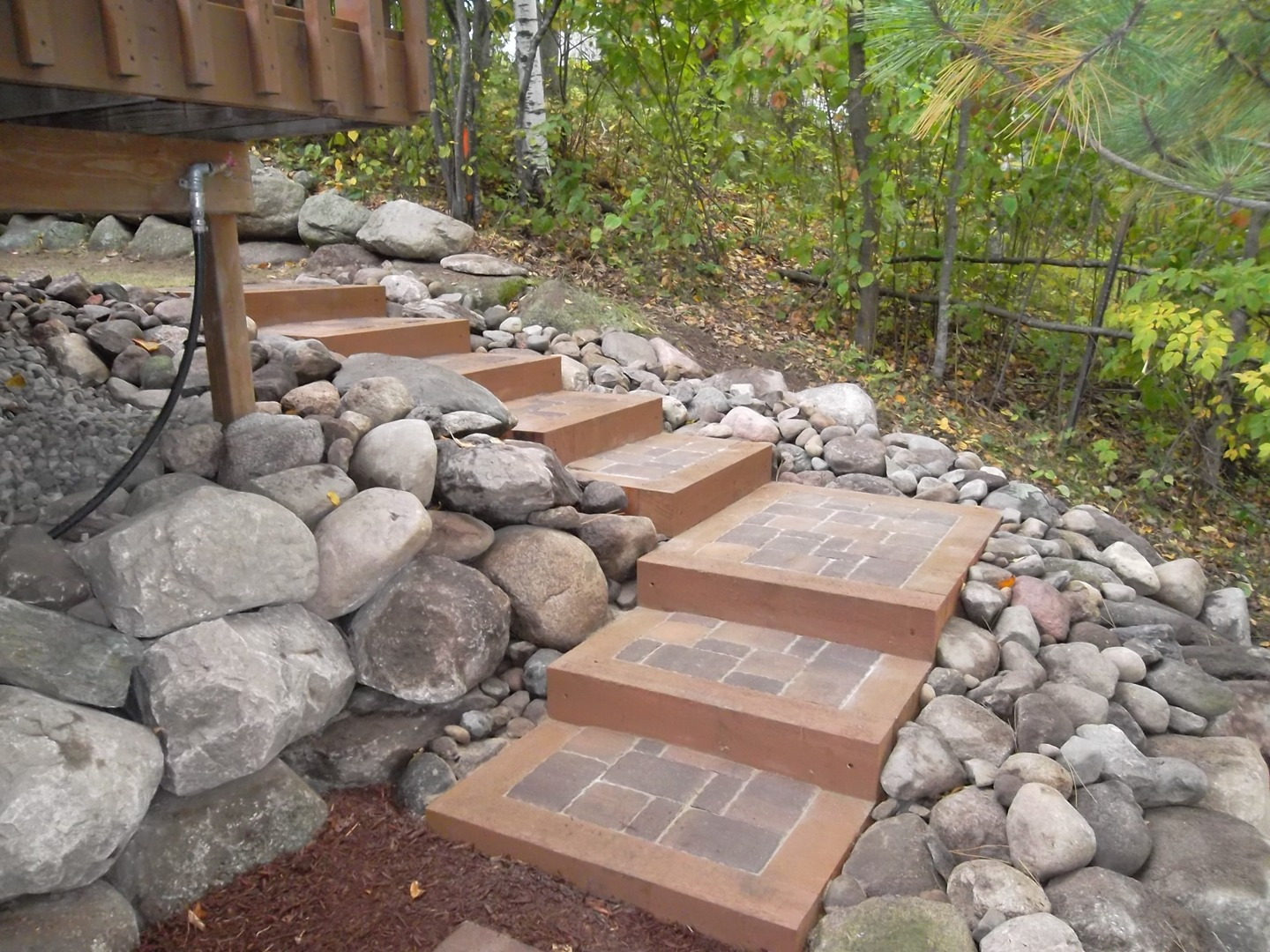 Contact Eric's Landscaping today for a free quote. - Landscaping Pavers Eric's Landscaping Pierz, MN Landscape