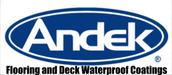 Andek Flooring and Deck Waterproof Coatings