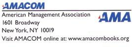 American Management Association logo and address.