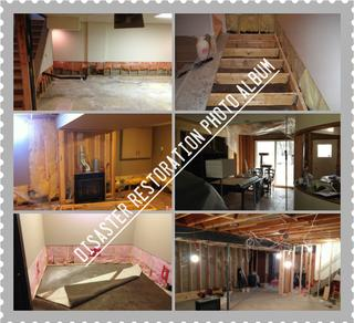 VKW Homes - Flood and Fire Restoration Photo Gallery