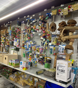 Bird Toy Aisle