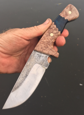 How to make a knife. Complete online guide to knife making. www.DIYeasycrafts.com