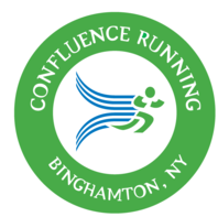 Confluence Running sells running shoes, apparel, and coaching services as well as organizes brands like Kaio Coaching for Women, Men, and Sports Teams, Herald of Victory Marathon & 3-Person Relay, Victory Fitness Expo, Confluence Kids, Victory Kids Run, Marathon Music Fest, Beers and Cheers Microbrewery Festival, Binghamton Marathon Weekend, Confluence Running, Confluence Running Water Stop, Southern Tier Cross Country, Parade Day Mile, Pub Run Series, Empire Road Race Series, Binghamton Area Trail Runners.