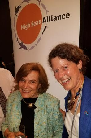 Sylvia Earle, High Seas Alliance, Cymie Payne