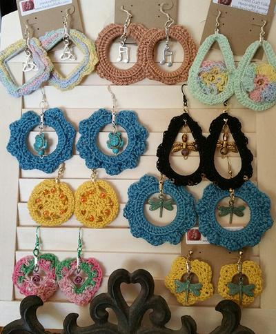 Crocheted Charm Jewelry