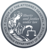 department of justice logo and link