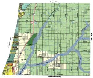 Casco township zoning map