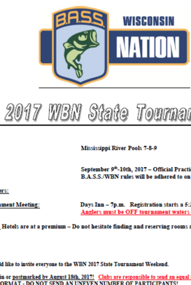2017 State Entry Form