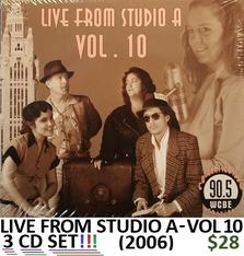 WCBE Live from Studio A Vol 10