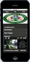 Placerville Garden Walk Mobile App Josette Johnson Developer Website Community Pride Volunteers California Gardens and Projects with Points of Historical Interest