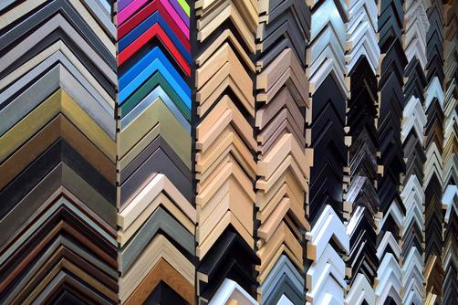 Newframes Large Range of mouldings For Custom Framing Soho London W1