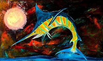 blue marlin art, blue marlin moon, blue marlin sticker, blue marlin painting, blue marlin jumping, sealife art, sealife artist, stickermule, redbubble, www.stickermule.com,wahoo, wahoo sticker, wahoo art, wahoo art print, wahoo painting, wahoo decal, nc sealife art, nc sealife artist, nc sealife paintings, nc artist, nc sealife, nc sea life artwork, nc fish artist, emerald isle nc,us flag crab sticker, us flag nc crab, nc crab sticker, flag crab sticker, nc us flag sticker, crab sticker us flag, crab nc sticker, nautic dreams, barry knauff, carolina surfboards, nc crab, crab sticker, us flag sticker,blue marlin sticker, blue marlin decal, blue marlin art, blue marlin painting,sailfish art, sailfish painting, sealife art, sealife artist, nautic dreams, barry knauff, north carolina artist, nc artist, emerald isle nc,morehead city nc, swansboro nc,