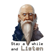 Stay A While And Listen Sticker