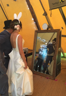 Magic Mirror Wedding Hire