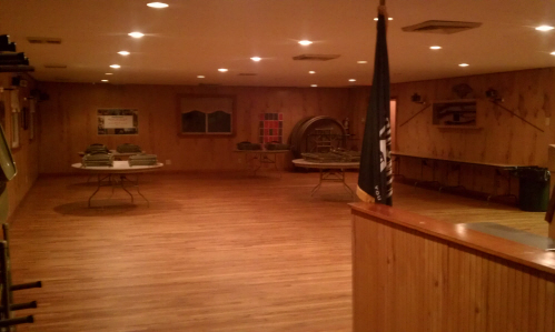 What options are available when renting a VFW hall?