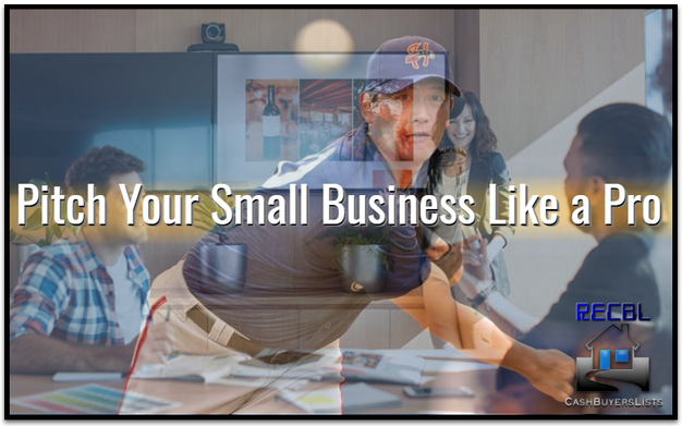 Pitch Your Small Business Like a Pro