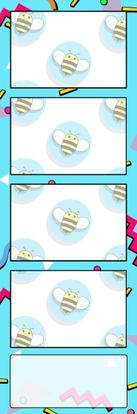 Bumblebee Booths Photo Strip sample #37