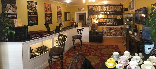 Gold & Silver Buyer Penfield jewelry and coin exchange gold depot