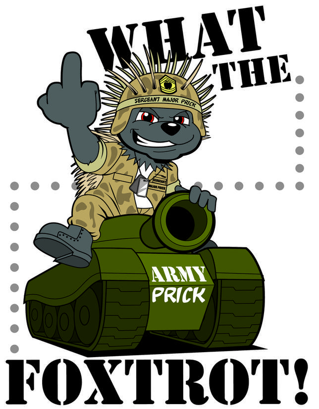 Sergeant Major Prick of Dam Rodents Brigade