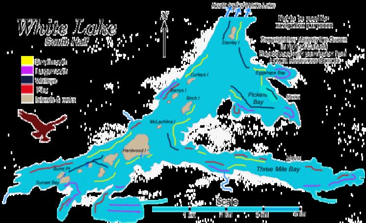 Map Of White Lake