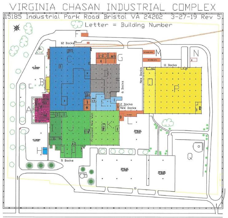 Virginia CHASAN Industrial Complex on recreational map of va, political map of va, geological map of va, railroad map of va, driving map of va, county map of va, physical map of va, municipal map of va, topographical map of va,