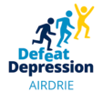Defeat Depression Airdrie Logo