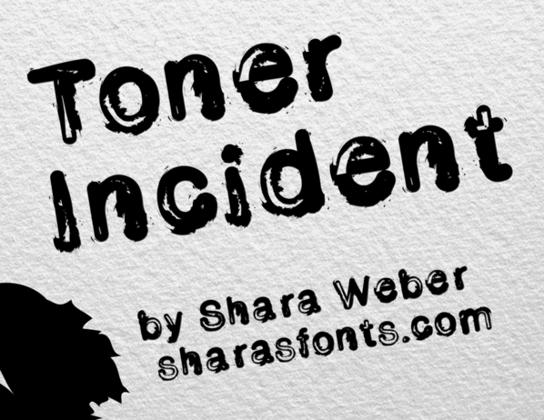 Toner Incident font
