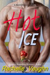 Hot Ice by Rachelle Vaughn sports romance book