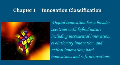 innovation classification, innovation management