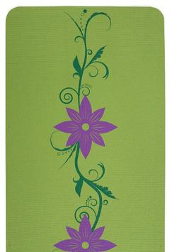 Island Floral Two-Color Yoga Mat