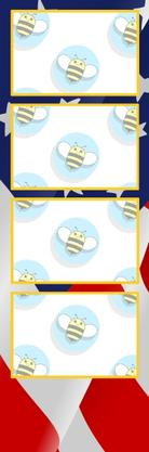 Bumblebee Booths Photo Strip sample #36