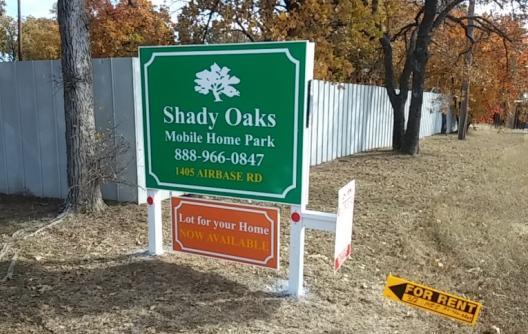 Peaceful Mobile Home Park In Bellmead Texas Shady Oaks Gets Its Name From An Abundance Of Live That Keep The Property Cool Year Round