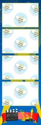 Bumblebee Booths Photo Strip sample #31