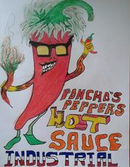 Poncho's Peppers Hot Sauce Mini THC