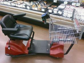 electric cart repaired by Product Service Industries