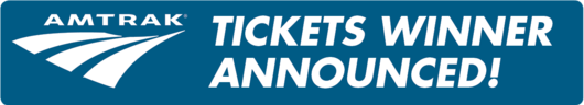 Amtrak Tickets Winner Announced