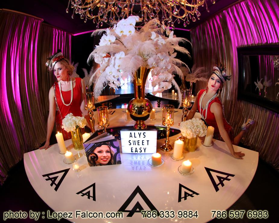 Quinces Party Great Gatsby Miami