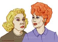 THE LUCY SHOW with Vivian Vance and Lucille Ball