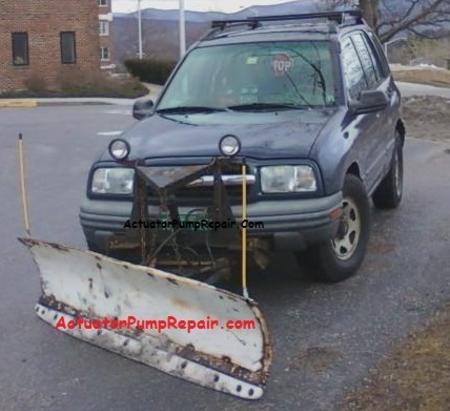 Chevy Tracker With Snow Plow Suzuki Vitara