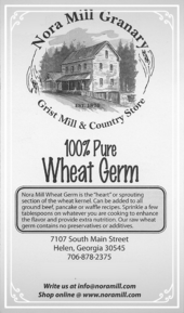 Nora Mill 100 Wheat Germ Recipes