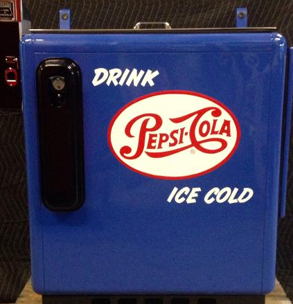 Pepsi Cola Ideal 55 Slider antique soda machine